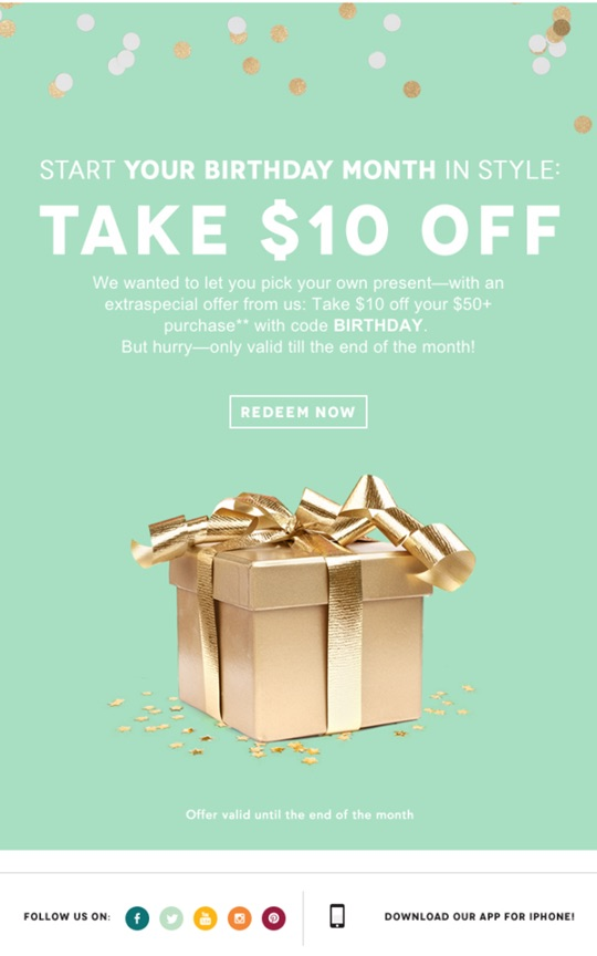 birchbox birthday coupon