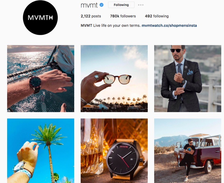 movement watches instagram account