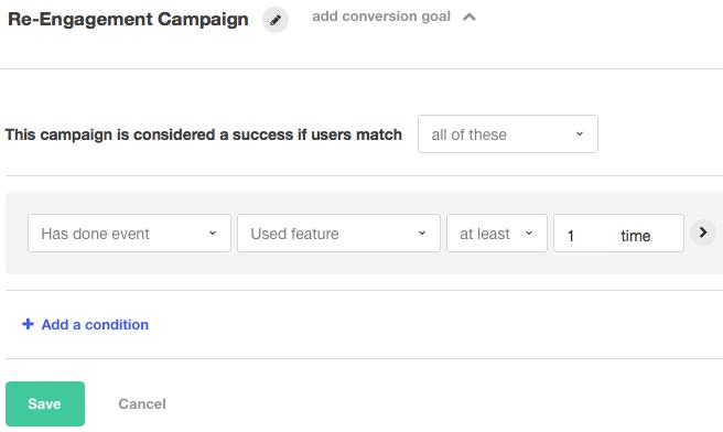 setting campaign goal